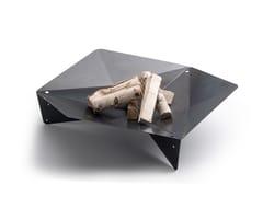 Barbecue a legna in acciaio Corten™TRIPLE - HÖFATS