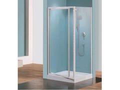 Box doccia angolare con porta scorrevoleTRIS | G - NOVELLINI