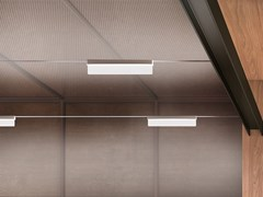 Lampada a sospensione a LED su cavi in alluminioTRIX-C - LINEA LIGHT GROUP