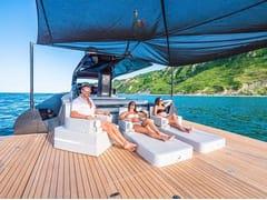 Lettino galleggiante in ecopelleTRONA FOR YACHT - TRONA