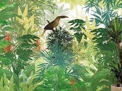 Carta da parati tropicale PVC free, eco, lavabileTROPICANA - WALLPEPPER