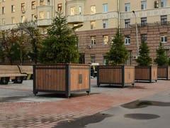 Punto Design, TRUNK | Fioriera per spazi pubblici  Fioriera per spazi pubblici