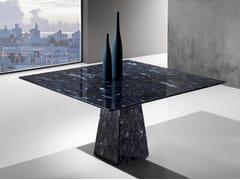 Tavolo quadrato in Crystal Stone®TUAREG - BALLARINI