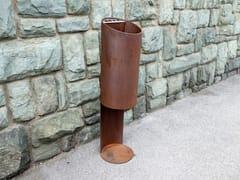Portarifiuti in acciaio inox per esterniTUBO O - TUBO / ZZ CONCEPT