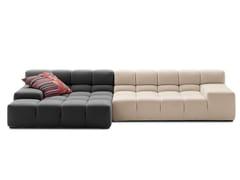 Divano componibile in tessuto con chaise longueTUFTY TIME | Divano con chaise longue - B&B ITALIA