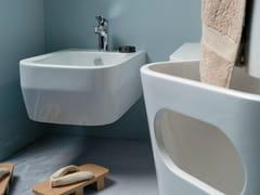 Bidet sospeso in ceramica TULIP ONE | Bidet sospeso - Tulip