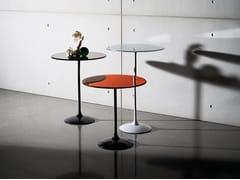 Tavolino rotondo in vetro TULIP ROUND - Tulip