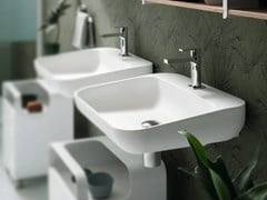 TULIP | Wall-mounted washbasin