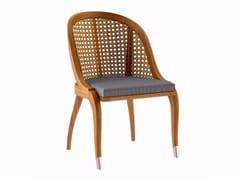 Sedia da giardino in teakTULIPE | Sedia da giardino - ASTELLO BY THIERRY MASSANT