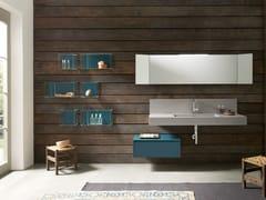 Mobile lavabo in legno con specchioTULLE 10 - ARCHEDA