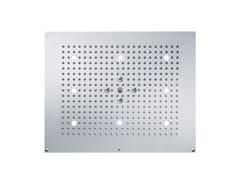 Soffione doccia a pioggia con 2 getti con illuminazione TUNE | Soffione doccia con illuminazione - TUNE