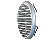 Griglia di ventilazione rotonda in ABSTUR125CR   Griglia di ventilazione - FIRST CORPORATION