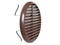 Griglia di ventilazione rotonda in ABSTUR125M   Griglia di ventilazione - FIRST CORPORATION