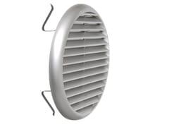 Griglia di ventilazione rotonda in ABSTUR160CR   Griglia di ventilazione - FIRST CORPORATION