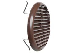 Griglia di ventilazione rotonda in ABSTUR160M   Griglia di ventilazione - FIRST CORPORATION