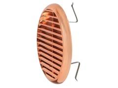 Griglia di ventilazione rotonda in ABSTUR160RAN   Griglia di ventilazione - FIRST CORPORATION