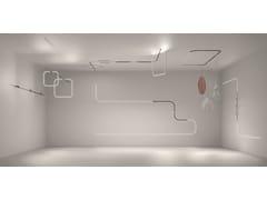 Illuminazione a binario in alluminioTURN AROUND - ARTEMIDE