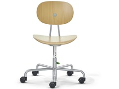 Sedia in legno ad altezza regolabileTURTLE - RICHARD LAMPERT