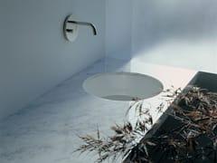 Lavabo da incasso sottopiano in ceramica TWIN SET 42 | Lavabo da incasso sottopiano - Twin