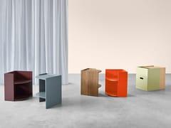 Tavolino / comodino in legnoTWINS - SCULPTURES JEUX