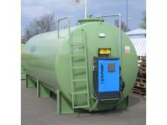 Vasca, cisterna e serbatoio per opera idraulica TANK FUEL DOPPIA PARETE PER ESTERNO -