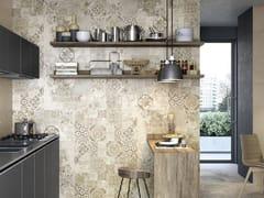 Decoro per rivestimento in pasta bianca rettificatoTerracruda | Decoro Carpet Sabbia - CERAMICHE RAGNO