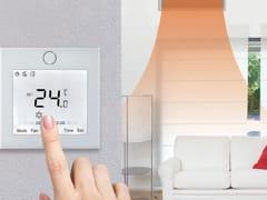 Controllo a filo touch screen per climatizzatoriControllo a filo touch screen - EMMETI