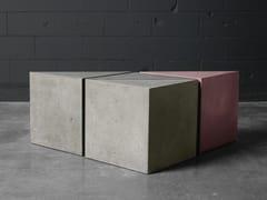 Sgabello / tavolino in calcestruzzoTavolino triangolare - ATELIERB