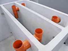 Vasca di raccolta liquamiFosse settiche bicamerali e tricamerali - GAZEBO