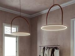 Lampada a sospensione fonoassorbenteU-LIGHT   Lampada a sospensione acustica - AXOLIGHT