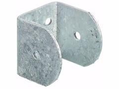 Supporto a muro ad U in acciaio zincatoSupporto a muro ad U - UNIFIX SWG