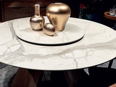 Pavimento/rivestimento ultrasottile effetto marmo ULTRA MARMI - BIANCO CALACATTA - ULTRA MARMI