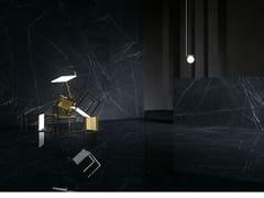 Pavimento/rivestimento in gres porcellanato effetto marmoULTRA MARMI - NERO MARQUINIA - ARIOSTEA