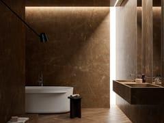 Pavimento/rivestimento in gres porcellanato effetto marmoULTRA MARMI - PULPIS BRONZE - ARIOSTEA