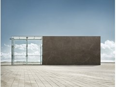 Pavimento/rivestimento ultrasottile effetto marmo ULTRA MARMI - PULPIS BROWN - ULTRA MARMI