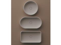 Lavabo da appoggio in Solid SurfaceUNDICI | Lavabo da appoggio - AGAPE