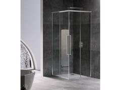 RELAX, UNICO A+A Box doccia angolare con porta scorrevole