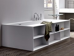 Vasca da bagno in CorianUNICO LIBRO - REXA DESIGN
