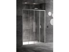 RELAX, UNICO SC2 Box doccia a nicchia con porta scorrevole