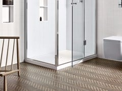 Piatto doccia in Corian®UNICO   Piatto doccia - REXA DESIGN