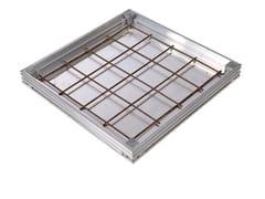 Chiusino e griglia per impianto idrosanitarioUNIFACE AL - BASSO SPESSORE - ACO PASSAVANT