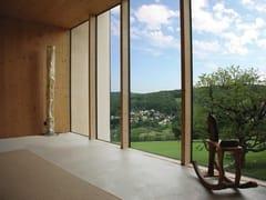 8-Chemie, UNIGLAS® FACADE Sistema continuo in facciata in legno e vetro