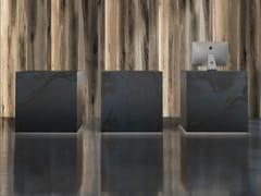 Banco reception in laminato e metalloUNIKO - GRUPPO P&G