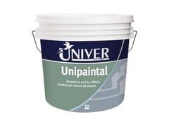 Pittura opaca per interni ed esterniUNIPAINTAL - PPG UNIVER