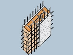 Intonaco strutturale deumidificante, consolidante, bianco UNISAN BIANCO - INTOTECH