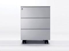 Cassettiera ufficio in metallo con ruote UNIVERSAL MOBILE 420 - Personal Storage