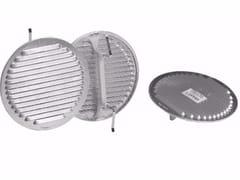 Griglia di ventilazione rotonda in alluminioGRIGLIA UNIVERSALE ALLUMINIO - DAKOTA GROUP