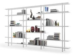 Libreria a giorno in metalloUNO LIVING - FANTIN