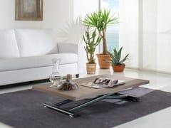 Tavolino ad altezza regolabile da caffè rettangolareUP & DOWN - IDEAS GROUP