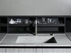 Schienale per cucina in Paperstone® o Corian® UPPER | Schienale per cucina in Paperstone® -